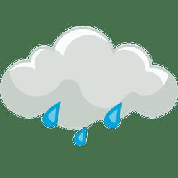 moderat regn natt