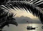 Zdjęcie:   Turcja  Riwiera Turecka  Antalya  (zarezerwowane, morze, statek)