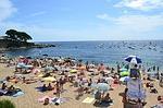 Zdjęcie:   Hiszpania  Costa Brava  Tossa de Mar  (beach, morza, opalona)