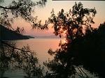 Zdjęcie:   Turcja  Riwiera Turecka  Antalya  (zachód słońca, wieczorem sky, poświata)
